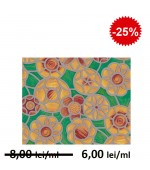 Autocolant vitraliu flori 2795 45 cm