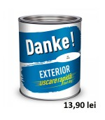 Vopsea Danke exterior alb 0.75 l
