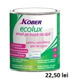 Email pe baza de apa Kober Ecolux, Galben, 0,75L