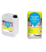 Hidroizolatie Webertec Hydroprotect Kit (sac: 20 kg + bidon: 10kg)