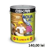 Lac Oskar Aqua incolor pentru lemn 5L