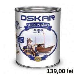 Lac lemn Oskar Yacht 3 in 1 Incolor 5L