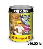 Lac Oskar Aqua tec pentru lemn 5L