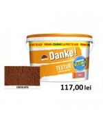 Tencuiala decorativa siliconica Danke Textur Ciocolatiu 25kg