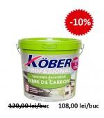 """Tencuiala decorativa cu fibra de carbon """"bob de orez"""" Kober Profesional 25kg"""