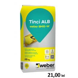 Tencuiala fina alba-tinci Weber BM15-W