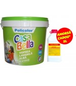 Vopsea lavabila (var lavabil) de interior Casabella 17L+Amorsa 3L GRATIS