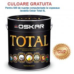 Vopsea lavabila (var lavabil) Oskar Total 5L