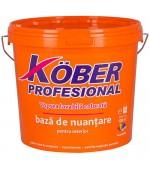 Vopsea lavabila colorata acrilica pentru interior Kober Profesional