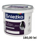 Vopsea superlavabila latex pentru pereti si tavane Sniezka MAX 15L
