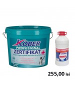 Vopsea superlavabila (var superlavabil) de exterior Zertifikat 15 L+ Amorsa 3L