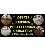 OFERTE SURPRIZA la modele de PARCHET LAMINAT si STRATIFICAT in magazinele Castilio pe 23.03.2018.