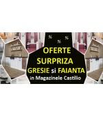 OFERTE SURPRIZA  la zeci de modele de GRESIE si FAIANTA in magazinele Castilio pe 23.03.2018