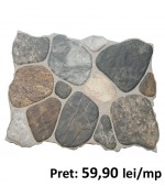 Gresie Pebble Mix 32x48 cm