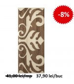 Faianta Decor Lucia Ornament Brown 2255 20x50 cm