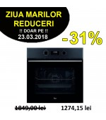 Cuptor electric incorporabil multifunctional Teka HSB 630 Black
