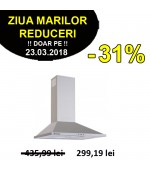 Hota decorativa Pyramis SLIM Square Chimney 60 cm