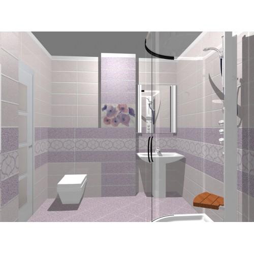 Model de design pentru baie colectia de gresie si faianta for Modele bai dedeman