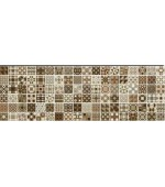Faianta Decor Gala Cube Brown MOS 20x60 cm