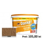 Tencuiala decorativa siliconica Danke Textur Cafeniu 25kg
