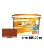 Tencuiala decorativa siliconica Danke Textur Maro Accent 25kg