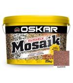 Tencuiala decorativa de soclu Oskar mosaik 25kg
