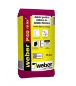 Adeziv pentru polistiren expandat Weber P40 max2 25kg