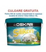 Vopsea lavabila colorata de exterior Oskar Silikon 15L