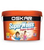 Vopsea superlavabila colorata (var superlavabil colorat) de interior Superweiss Oskar 2,5L, 8,5L si 15L