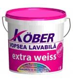 Vopsea lavabila de interior Extra Weiss 15L