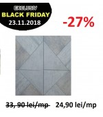Gresie GP Smart Grey 4383 41.8X41.8 cm