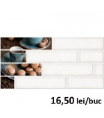 Faianta Decor Brick 1 Cream 4209 30x60 cm