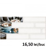 Faianta Decor Brick 2 Cream 4211 30x60 cm