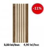 Faianta Decor Lucia Strips Brown 2258 20x50 cm