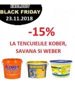 -15% la TENCUIELILE KOBER, SAVANA SI WEBER doar vineri, 23.11.2018