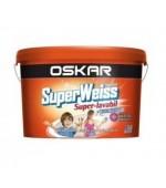 Vopsea superlavabila interior Oskar Superweiss 8.5l
