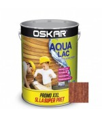 Lac Oskar Aqua castan pentru lemn 5L