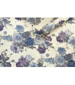 Tapet vinil Poiana decor albastru-gri-liliac 2-0996