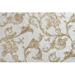 Tapet vinil Mirella decor perla auriu 5-1271