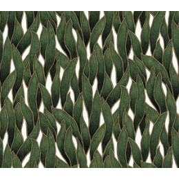 Tapet cu frunze, verde, unt, dormitor, living, lavabil, 10104-07